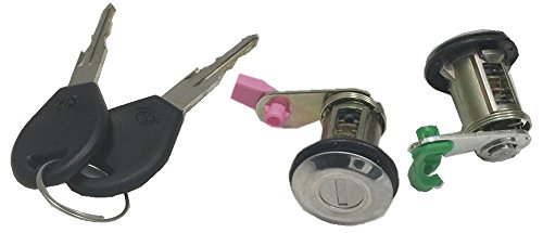 Well Auto Door Lock Cylinder Set w/Key(L& R) for 95-99 Nissan Sentra