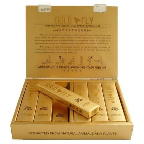 Spanish Gold Fly Drop is for Famous Standard in Female arouses and Better Orgasms (5 ml Each) - 6tube (and) Sex Dulo(Super Combo) Plus Love Potion Pen
