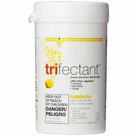 Tomlyn Trifectant Disinfectant Tablet, 50-Count