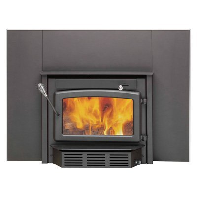High Efficiency Wood Burning Fireplace - Century Heating High-Efficiency Wood Stove Fireplace Insert - 65,000 BTU, EPA-Certified, Model# CB00005