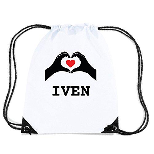 JOllify IVEN Turnbeutel Tasche GYM5441 Design: Hände Herz 8UEIvvdlqO