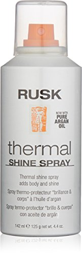 RUSK Thermal Shine Spray, with Pure Argan Oil, 4.4 oz ()