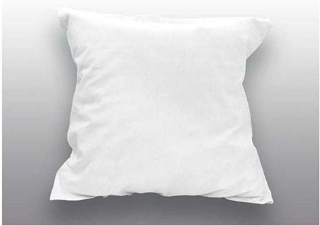 Soleil docre Funda de Almohada Lisa de algodón 65x65 cm Blanca: Amazon.es: Hogar