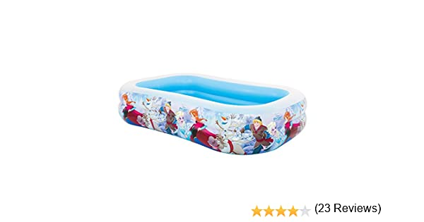 Intex Frozen Piscina Hinchable, 120 Litros, Multicolor, 262x175x56 ...