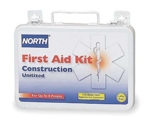 First Aid Kit, Unitized, White, 84Pcs, 8 PPL