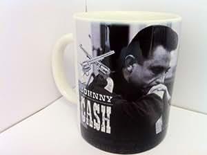 Johnny Cash taza de Michael Jackson