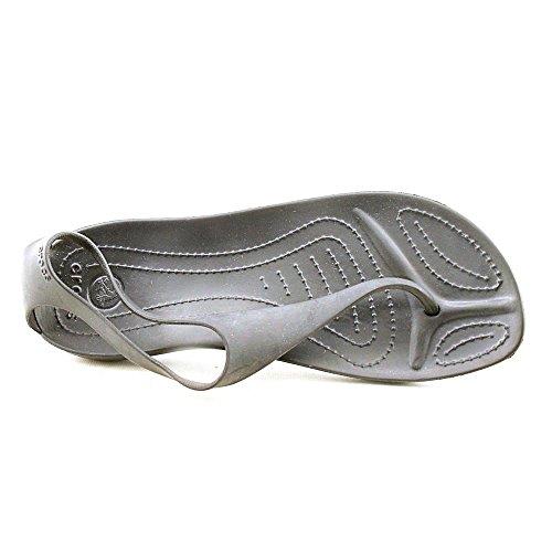 Crocs Sexy 11354, Sandales - Femme Schwarz (Black/Black)