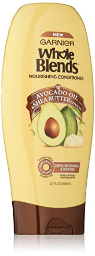 Garnier Whole Blends Conditioner with Avocado Oil & Shea Butter Extracts, 22 fl. oz. - Nourishing Blend