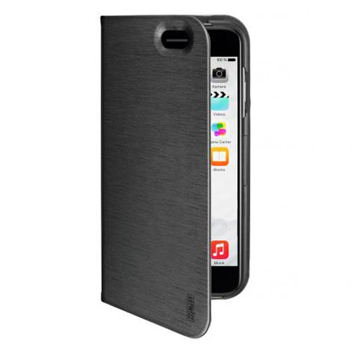 Artwizz Seejacket Folio Custodia a Libro per iPhone 6 Plus, Chiusura Magnetica, Nero