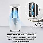Klarstein-New-Breeze-7-Condizionatore-Portatile-3-in-1-Raffrescatore-Deumidificatore-Ventilatore-7000-BTU21-kW-Locale-21-34-m-4-Rotelle-Timer-Telecomando-Bianco