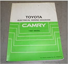 1987 Toyota Camry Electrical Service Repair Manual 87 ... on toyota wiring harness, toyota headlight adjustment, toyota ecu reset, toyota electrical diagrams, toyota headlight wiring, toyota ignition diagram, toyota alternator wiring, toyota cylinder head, toyota parts diagrams, toyota flasher relay, toyota cooling system diagram, toyota wiring color codes, toyota 22re vacuum line diagram, toyota maintenance schedule, toyota shop manual, toyota schematic diagrams, toyota shock absorber replacement, toyota wiring manual, toyota truck diagrams, toyota diagrams online,