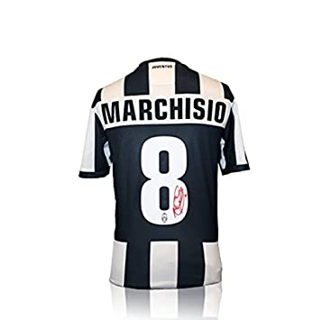 promo code 4debc 75df7 Claudio Marchisio Signed Juventus Shirt: Amazon.co.uk ...