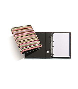 ARCHIVADOR A4 4 ANILLAS 40MM ETHNIC MIQUELRIUS: Amazon.es: Oficina y papelería