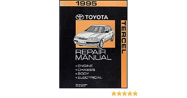 1995 Toyota Tercel Shop Service Repair Manual Book Car Manuals ...