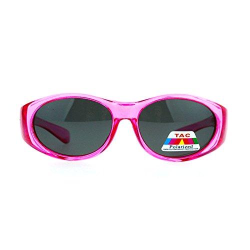 SA106 Kids Size 47mm Fit Over OTG Polarized Sunglasses - 47 Size Sunglasses