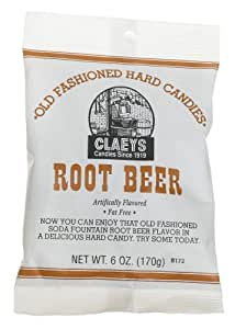 Claey's, Old Fashioned Hard Candy Root Beer, 6 oz