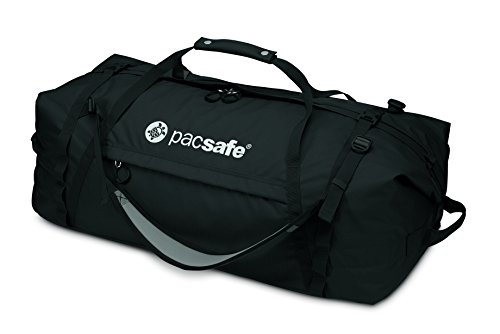 Pacsafe Duffelsafe AT100 Anti-Theft Duffel Bag, Black