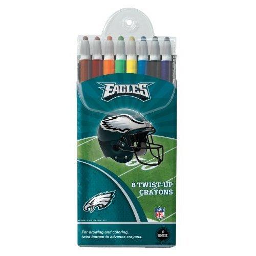 Philadelphia Eagles Twist-up Crayons, 8 Pack - NFL (12018-QUV)