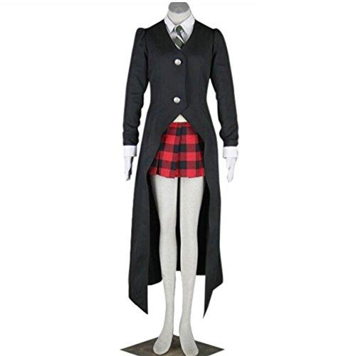 Holran Soul Eater Maka Albarn Cosplay Costume Size (Women-M, (Maka Soul Eater Costume)