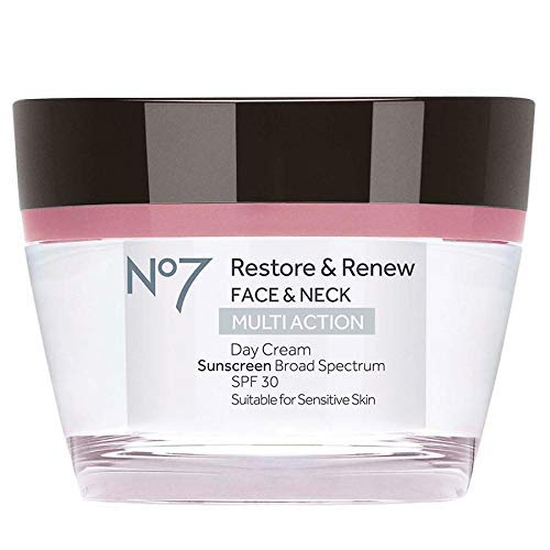 Boots No7 Restore Renew Multi Action Day Cream SPF 30 (Boots No 7 Face Cream For Mature Skin)