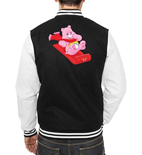 Bear Freak Certified College Fun Winter Vest Nero 0WYH5