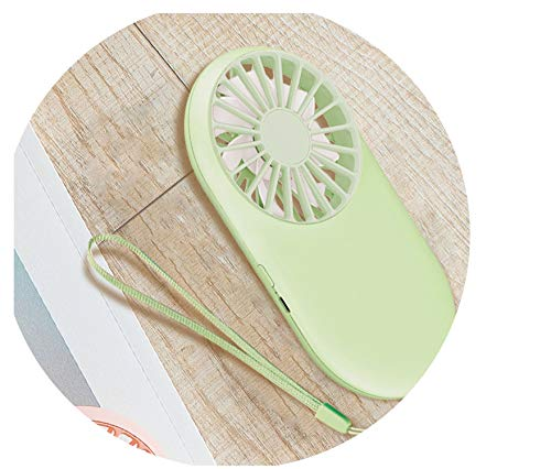 New Pattern Pocket Fans USB Charge Mini- Hold Fans Student Outdoors Bring Sika Portable Small Fans Customized,Green,CN