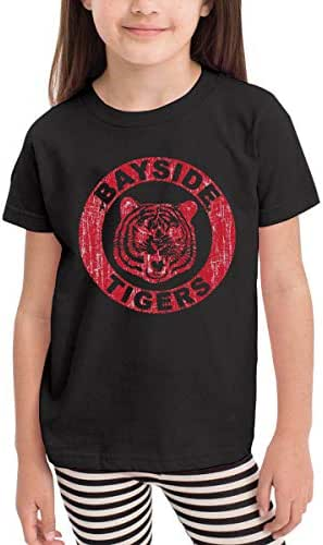 Bayside Tigers 100% Cotton Toddler Baby Boys Girls Kids Short Sleeve T Shirt Top Tee Clothes 2-6 T