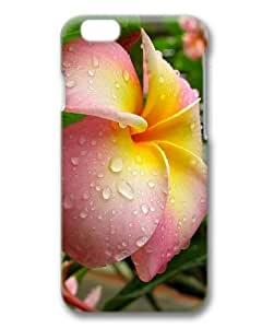 Sakuraelieechyan Hard Protective 3D Cover Case for Iphone6 (4.7 inch) With Frangipani