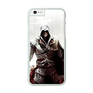 iPhone 6 Plus White Cell Phone Case Assassins Creed KVCZLW0089 Phone Case Cover Back Customized
