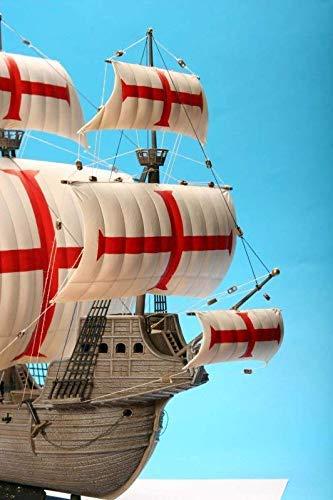 ZVEZDA 9008 ZVE-9008 Scale 1//100 74 Details Lenght 13 // 33 cm Dragon Models USA Inc Conquistadores Ship San Gabriel XVI Cent.- Plastic Model Kit