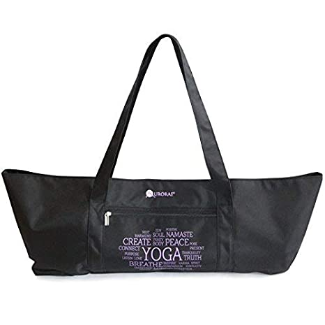 Amazon.com   Aurorae Yoga Mat Tote Bag d6203b763660c