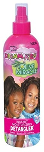 African Pride Dream Kids Olive Miracle Detangler 8oz by African Pride