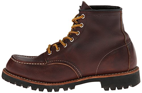 Red Wing Heritage Men's Six-Inch Moc Toe Lug Boot,Brown,12 D US by Red Wing (Image #5)