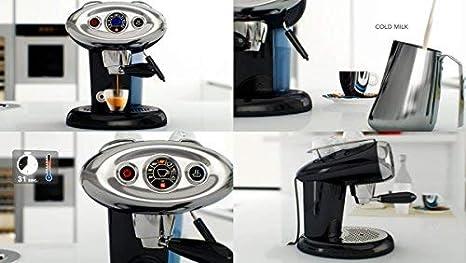 Francis Francis illycaffè X7.1 Iperpresso - Máquina de café en cápsulas, color negro: Amazon.es: Hogar