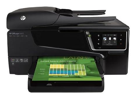 HP Officejet 6600 - Impresora multifunción con conexión WLAN (inyección de tinta, fax, escanear, copiar 14ppm, 8ppm)