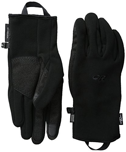 Outdoor Research Men's Gripper Sensor Gloves, Black, (Mens Gripper Gloves)