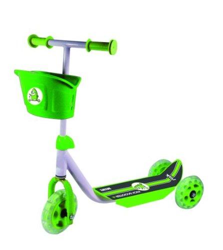 Stiga - Patinete infantil para principiantes (3 ruedas), color verde y negro 80-7401-09 SG-51