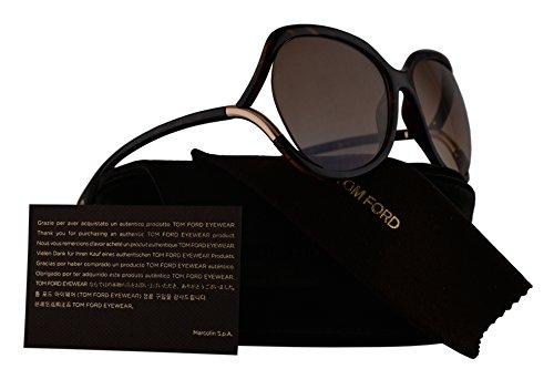 Tom Ford FT0578 Anouk-02 Sunglasses Dark Havana w/Brown Gradient Lens 52F TF578 - Havana Tom Ford Sunglasses