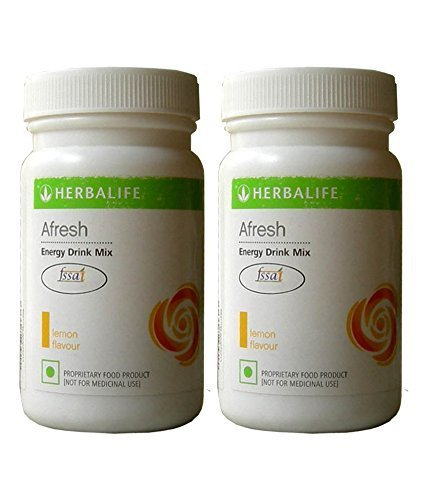 Herbalife Afresh Lemon Flavor, 50g (Pack of 2) by Herbalife