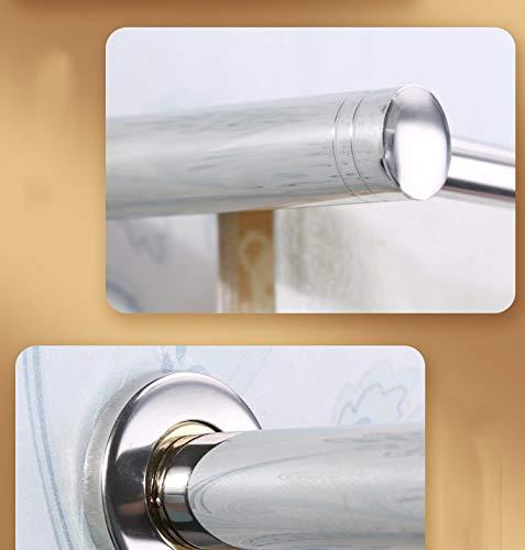 XPY-Towel rack Portasciugamani acciaio inox 304 unipolare portasciugamani WC bagno montaggio a parete forato 50 cm