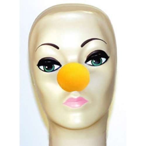 Goshman Yellow Foam Clown Noses (1 -