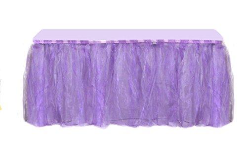 NOXZ Inc Organza Occasions Lavender