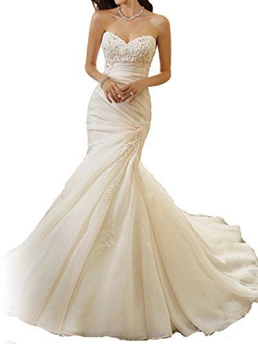Buy hand beaded wedding dresses - 6