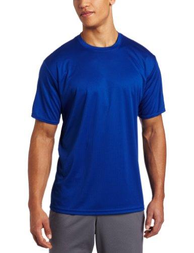 ASICS Men's Circuit 7 Warm-Up Shirt, Royal, Medium