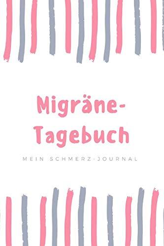 Migräne Tagebuch rosa: Für Notizen rund um Kopfschmerzen und Migräne für chronische Schmerzpatienten    120 linierte Seiten     15,24 x 22,86 cm (ca. DIN A 5) (German Edition) (Runde Rosa)
