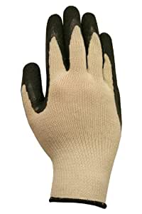 Grease Monkey 25083-26 Latex Coated General Purpose Glove (Large)