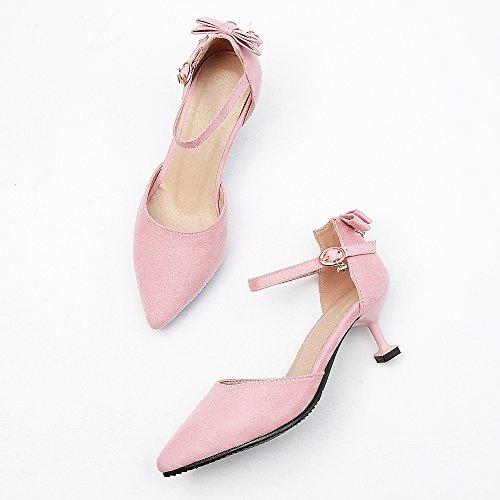 d'été cheville femmes rose pour Coolcept bride talon à la Chaussures à BwHdPxqP8