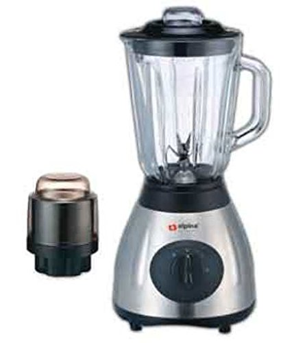 alpina sf 1012 electric 220v stainless steel kitchen countertop blender with grinder attachment not for usa  220 volts kitchen appliances  amazon com  rh   amazon com