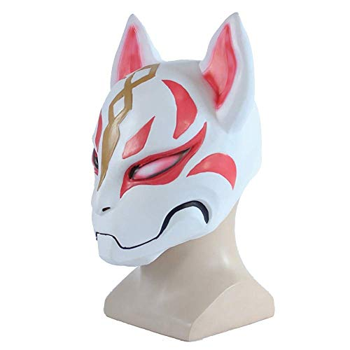 Cosplay Mask Hand Made Fox Style Full Face Mask Cosplay Masquerades Festival Costume Party Show Halloween Dress Up Dance -