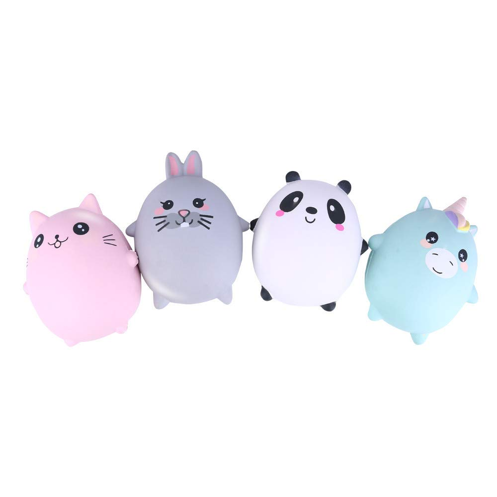 Kirbyates Squishy Toys Kawaii Cute Squishies Adorable Cat Decompression Toy Slow Rising Cream Squeeze Scented Stress Relief Toys